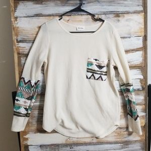 Cream light sweater